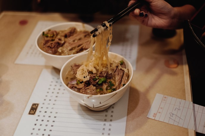 Kaukee beef noodles