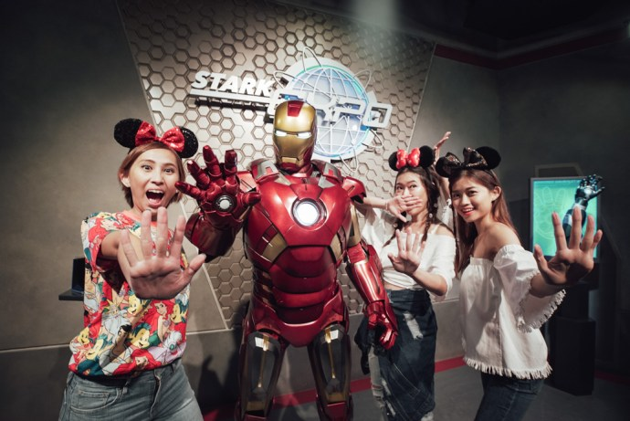 Hong Kong Disneyland Iron Man