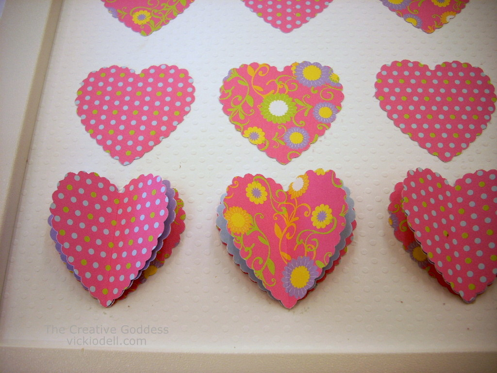 valentines day craft heart art - Valentines Day Arts And Crafts