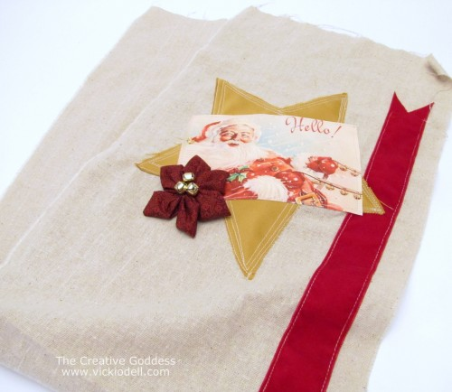 Christmas Crafts: Fabric Gift Bag, Cookie Cutter Bag