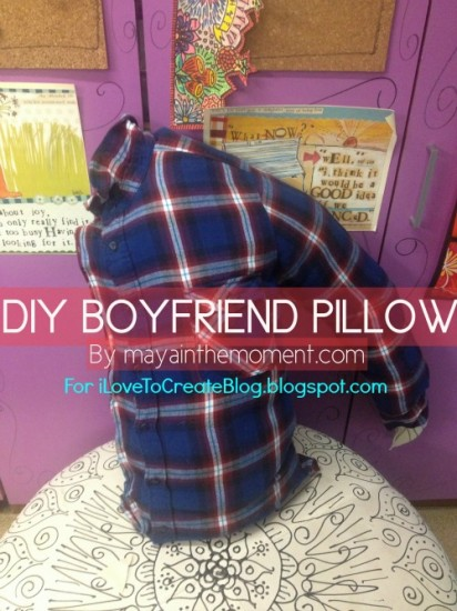 Make a Boyfriend Pillow