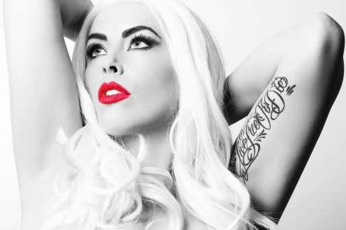 Gaga Head 1 B&W
