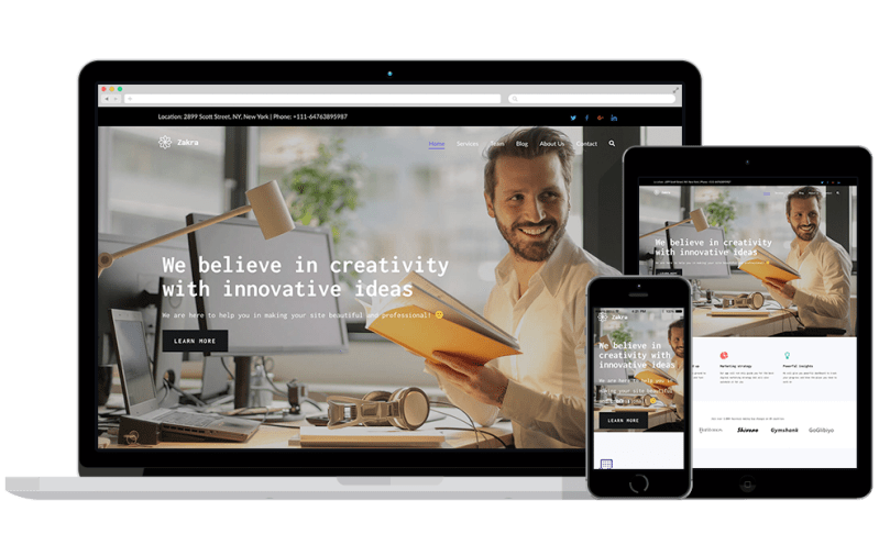 zakra theme a best wordpress theme for e-commerce store in 2019