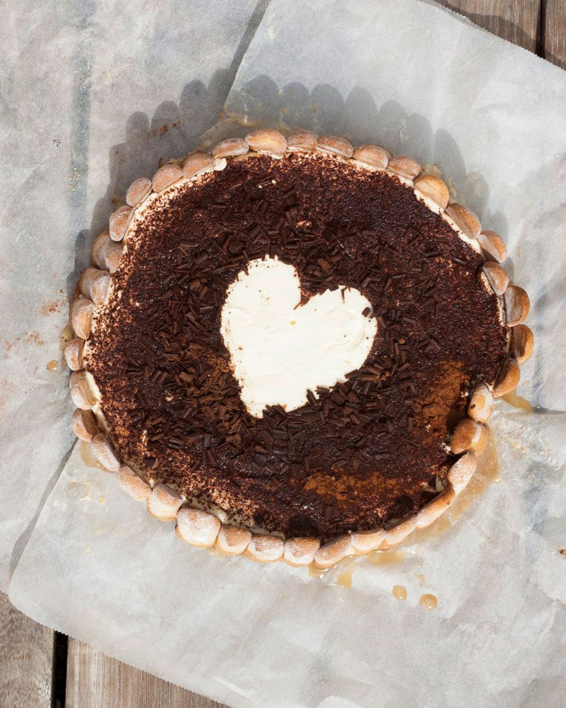 Vicky van Dijk | Tiramisu taart