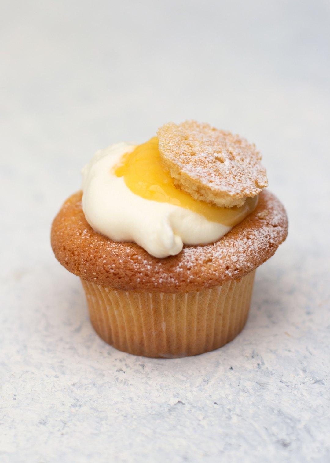 Vicky van Dijk | Lemoncurd cupcakes