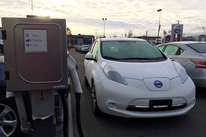 b.c.'s electric vehicle charging infrastructure lacking: reader