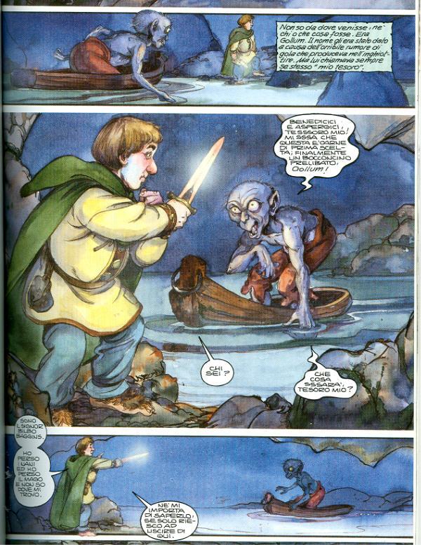 Lo Hobbit a Fumetti