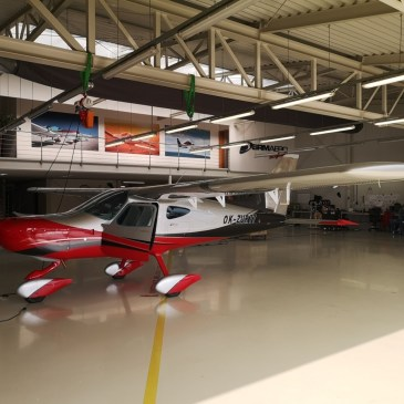 Ground Vibration Test and flutter verification of the new Bristell B8 aircraft