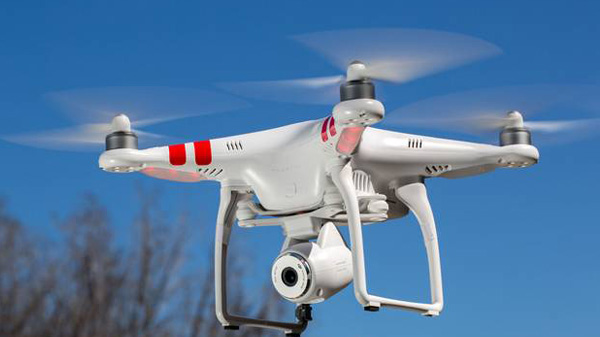 drones tournage