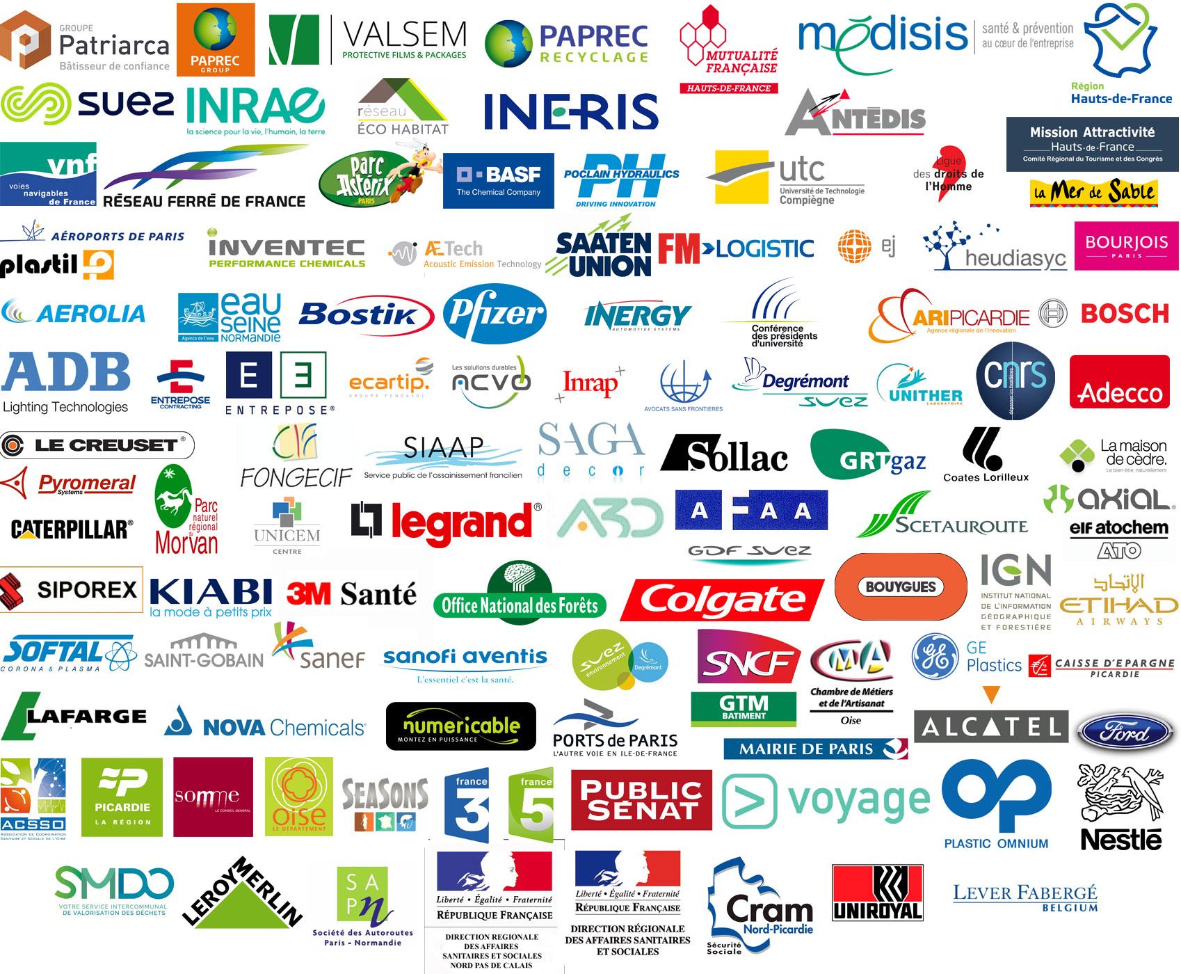 Depuis sa création en 1984 VIC PRODUCTION société de communication audiovisuel a réalisé plusieurs vidéos d'entreprises et films documentaires pour les sociétés suivantes : voir leurs logos