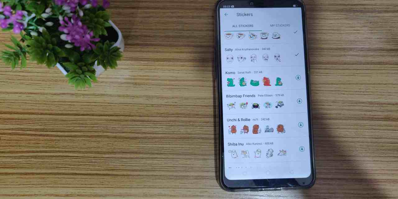 Whatsapp Enabled WhatsApp Stickers, Grouped Stickers features for Android & iOS