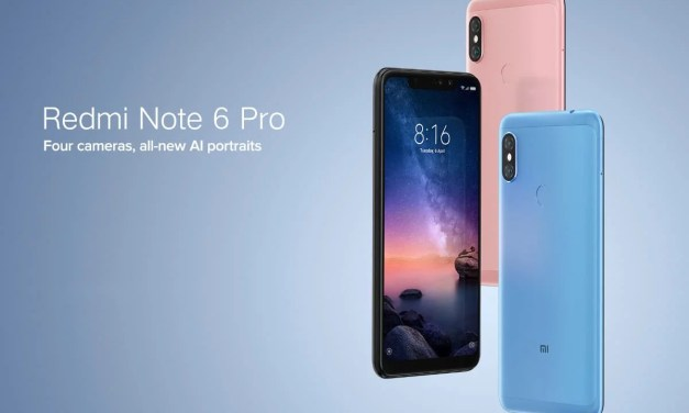 Redmi Note 6 Pro Quad camera, Notch design, 6.26-inch will launch on Nov'22 in India