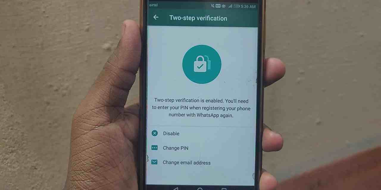 WhatsApp Two-Step Verification Protection & How to Enable it?