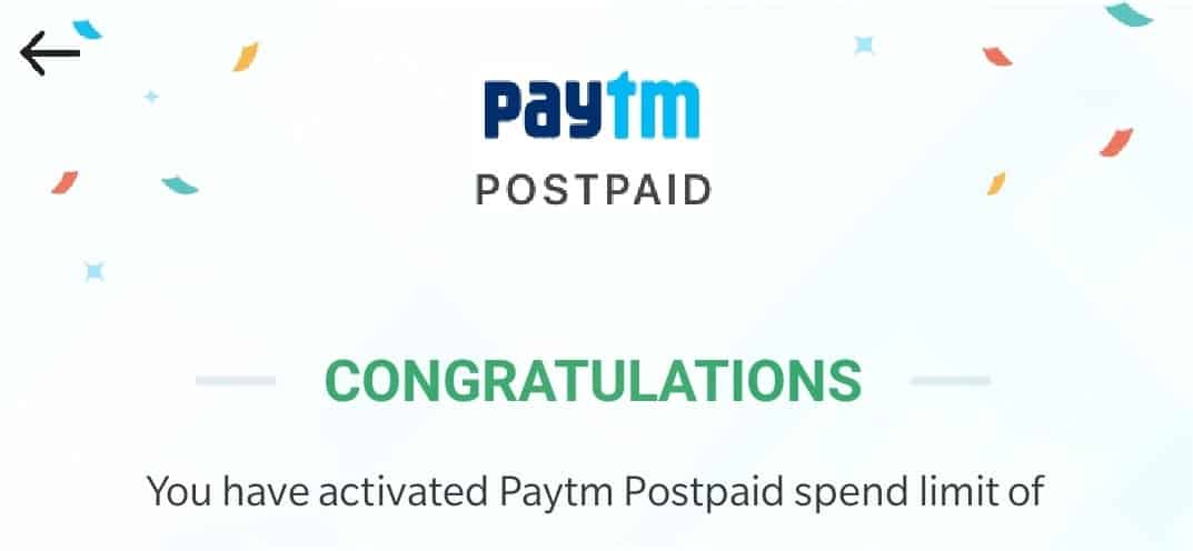 Paytm Postpaid a New Payment Service from Paytm