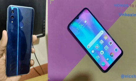 Honor 10 Lite Unboxing & Initial Impression