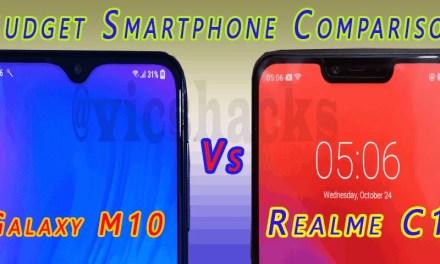 [Comparison] Samsung Galaxy M10 vs Realme C1 – Which is Best Budget Smartphone?