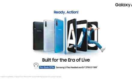 Samsung launched Galaxy A70: Pre-Booking starts from 20th April