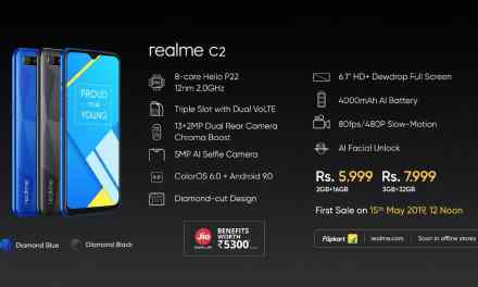 Realme Launched Realme C2: Price, Specs & Features