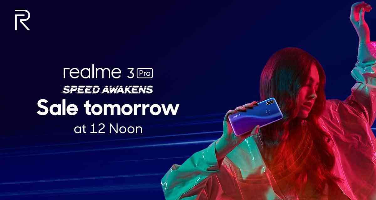 Realme 3 Pro sale goes for first time ever: Price, Specs & Offers
