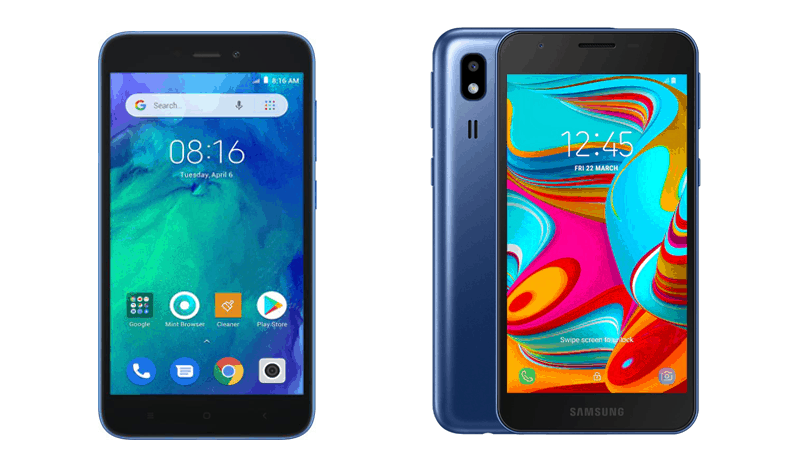 Redmi Go vs Galaxy A2 Core: Specs, Price & Features Compared