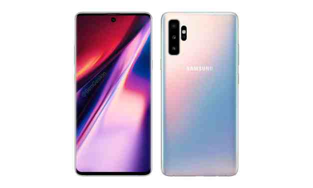 Samsung Galaxy Note 10 series camera module leaked image shows quad camera with TOF lens