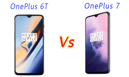 OnePlus 6T vs OnePlus 7 Similarity & Difference