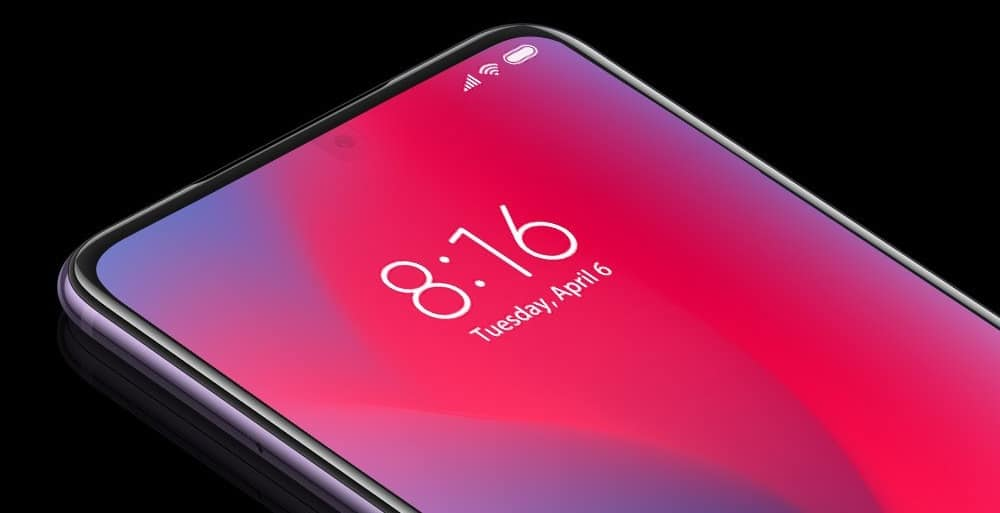 Xiaomi new Innovation: Under Display Hidden Camera Technology