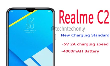 Realme C2 5V 2A Charging speed enabled after latest OTA update