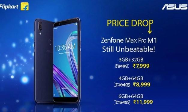 ASUS Zenfone Max Pro M1 gets permanent price drop