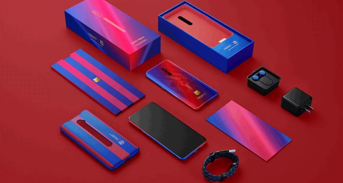 Oppo Reno FC Barcelona Edition announced: Price, Specs