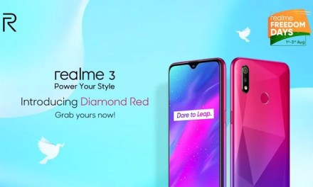 Realme 3 Diamond Red color introduced for Rs. 8,999 as like Realme 3i