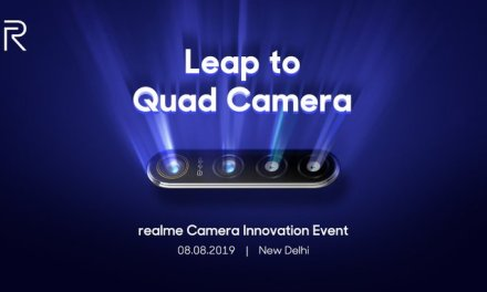Realme 64MP Quad Camera mobile technology revealed on 8th August