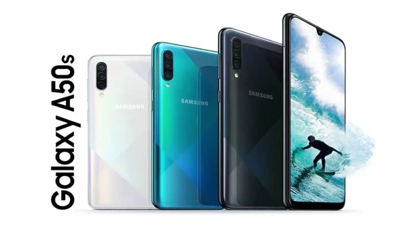 Samsung Galaxy A50s Specs with 48MP rear & 32MP selfie camera, 6.4-inch AMOLED display, 4000mAH battery announced