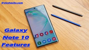 Galaxy Note 10 features