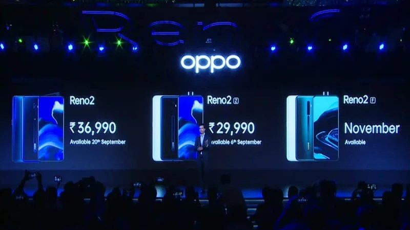 OPPO launched three mobiles in Reno 2 series: Full specs, price & sale