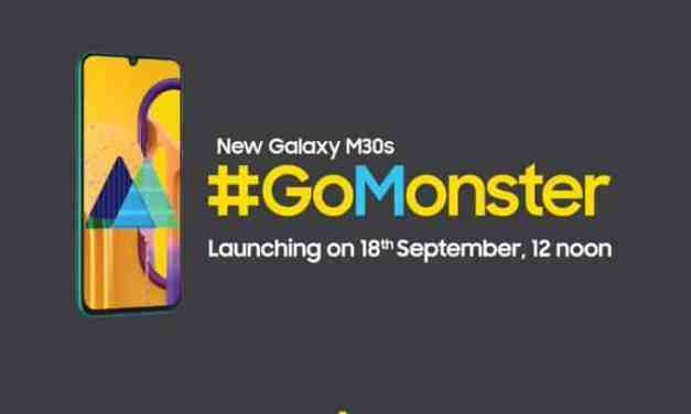 Samsung Galaxy M30s launch date in India on 18th September