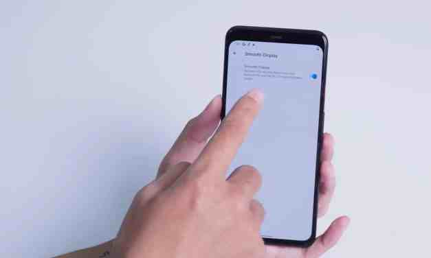 Google Pixel 4 XL leaks confirms 90Hz display option & no more fingerprint