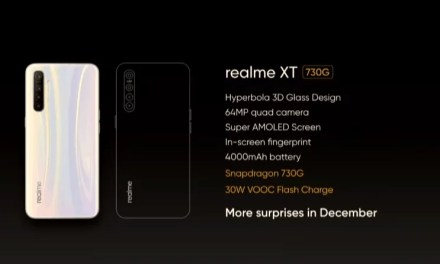 Realme XT 730G model with SDM 730G processor launch on December