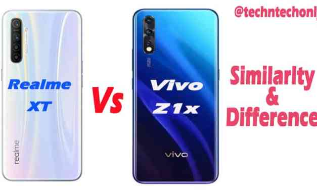 Vivo Z1x vs Realme XT Similarity & Difference: Which is Best?