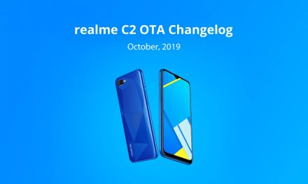 Realme C2 October OTA update rolling out: Dark mode, Security patch update, new charging animation