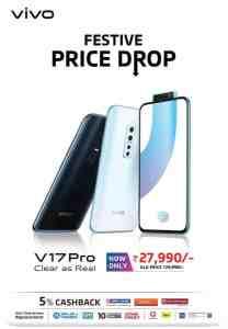 Vivo V17 Pro Price drop