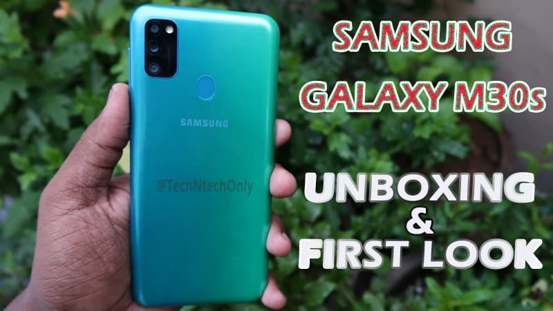 Samsung Galaxy M30s Unboxing & Initial Impression: Most Valuable Smartphone!