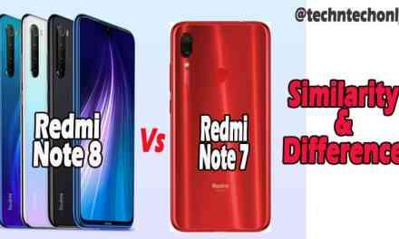 Redmi Note 8 VS Redmi Note 7 Similarity & Difference: Quad-camera & Processor Upgrade