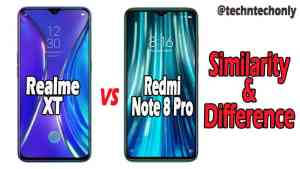Redmi note 8 Pro vs Realme XT comparison