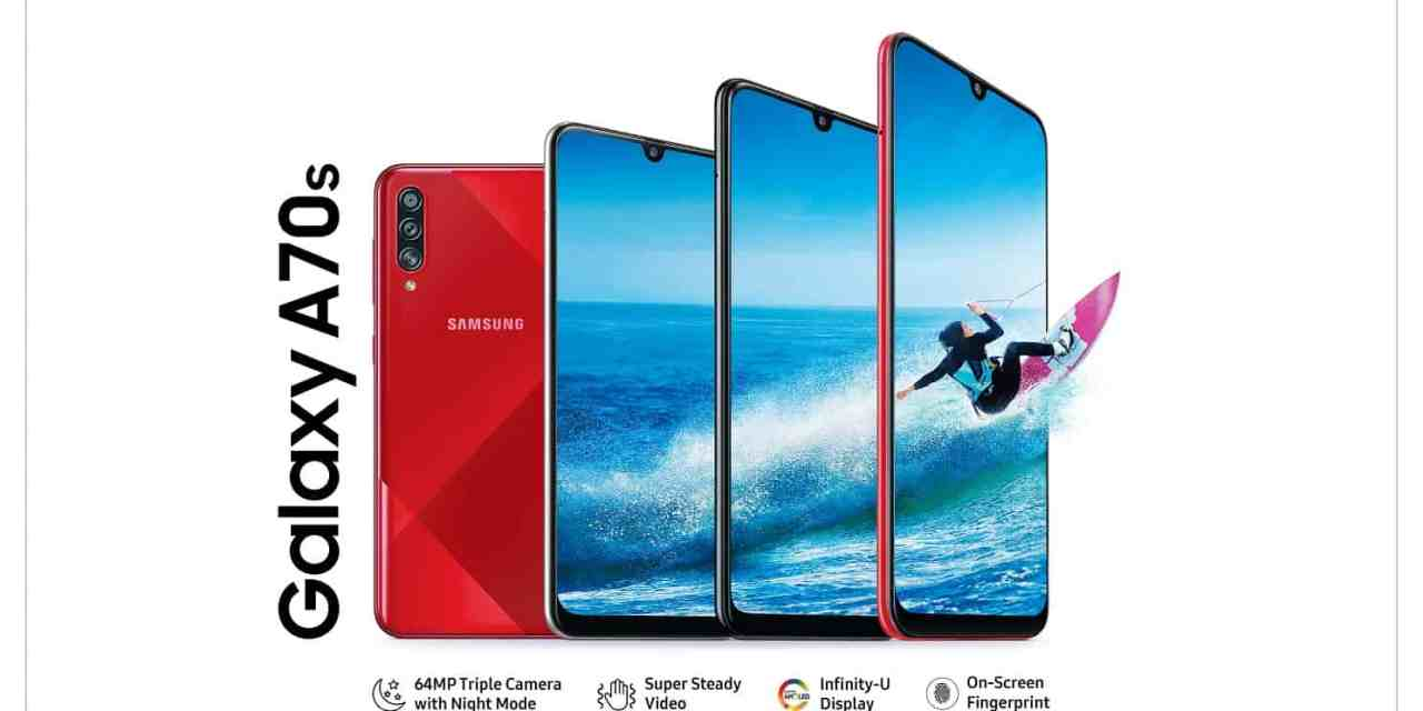 Samsung Galaxy A70s launched, price starts from Rs. 28,999: Full Specs
