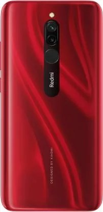 Redmi 8 Ruby Red color