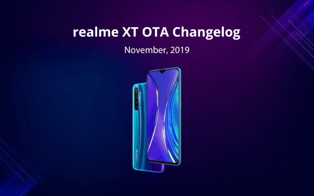 Realme XT November OTA update rollout: Dark mode on front camera, Security patch updated & more
