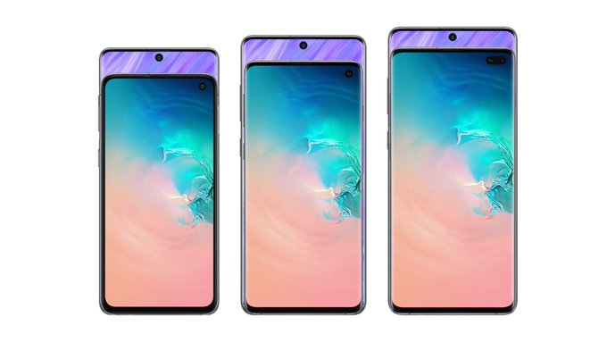 Samsung Galaxy S11e, S11, S11 plus