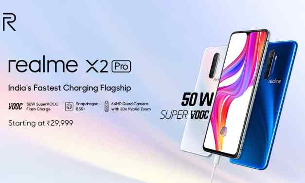 Realme X2 Pro launched, price in India starts at Rs. 29,999