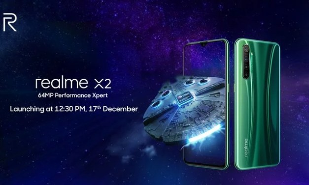 Realme XT 730G called as Realme X2 launch in India on 17th December